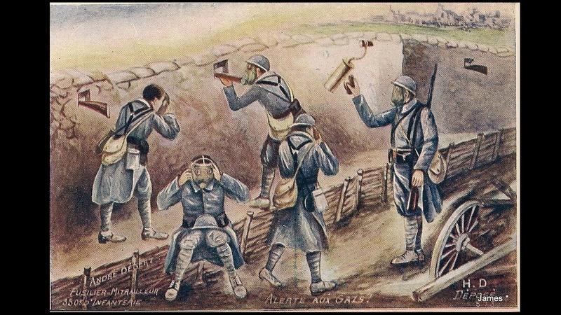 Guerre de 14/18 cartes dessinées Sans_t34