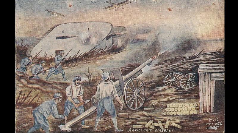 Guerre de 14/18 cartes dessinées Sans_t38