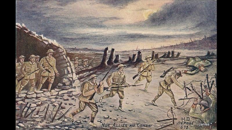 Guerre de 14/18 cartes dessinées Sans_t41