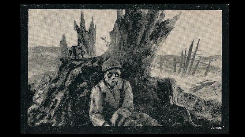 Guerre de 14/18 cartes dessinées Sans_t43