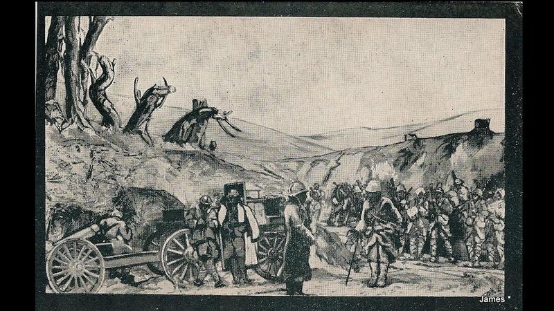 Guerre de 14/18 cartes dessinées Sans_t47