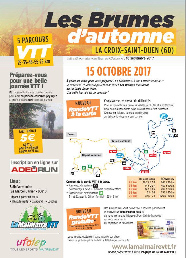 [60]15 OCTOBRE LA CROIX STE OUEN RANDO DES BRUMES Brumes10