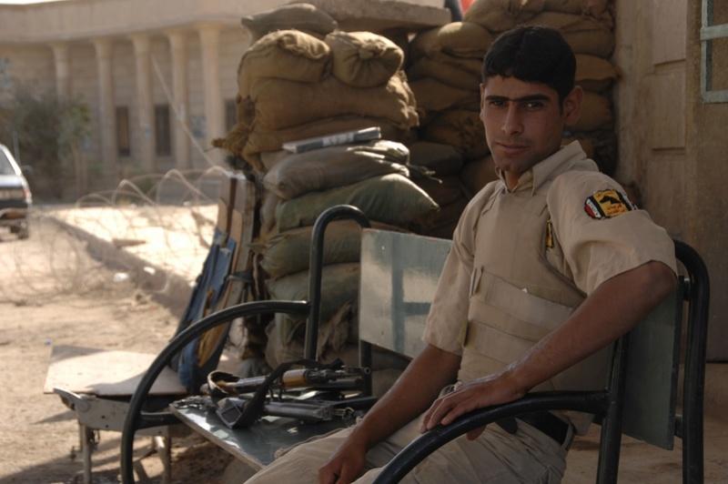 Tan Iraqi Uniform Top 08042110