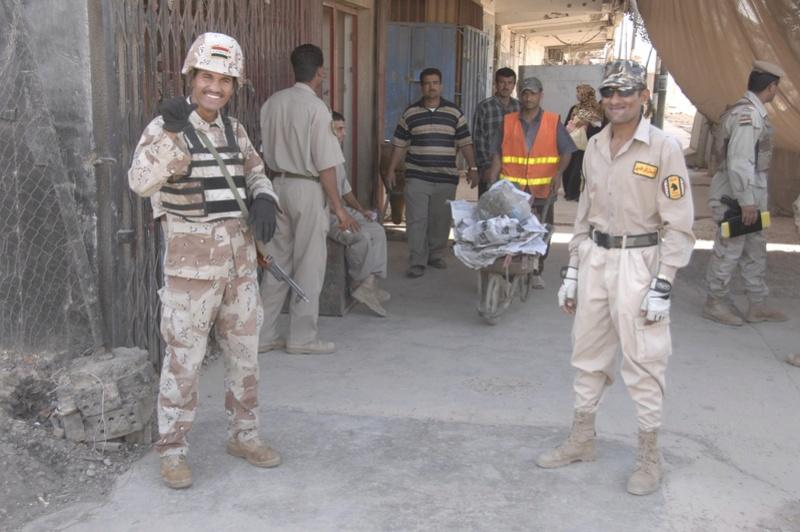 Tan Iraqi Uniform Top 08042111