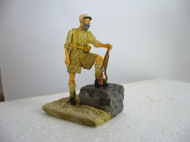 Légionnaire Bir Hakeim 1942, Warriors 1/35 - Huiles et acryliques P1040327