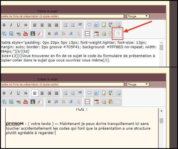 Modèle de fiche de présentation (à copier-coller) Tuto_s10