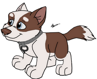Koda [Citadin] futur chien d'attelage Koda111