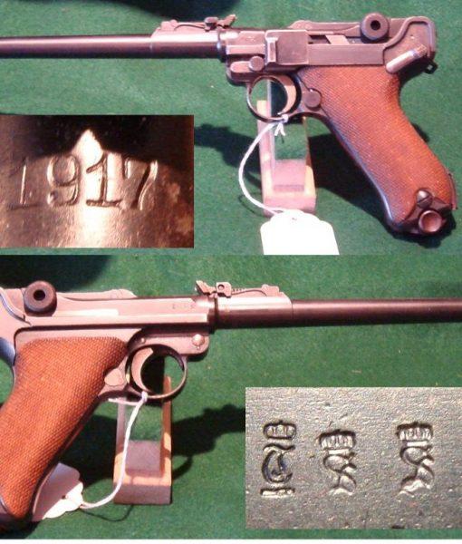 Luger P08 artillerie Art1-510