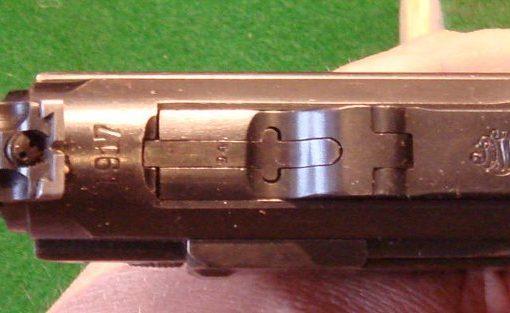 Luger P08 artillerie Art3-510