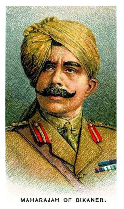 Identification d'un soldat sur une carte postale Bikane10
