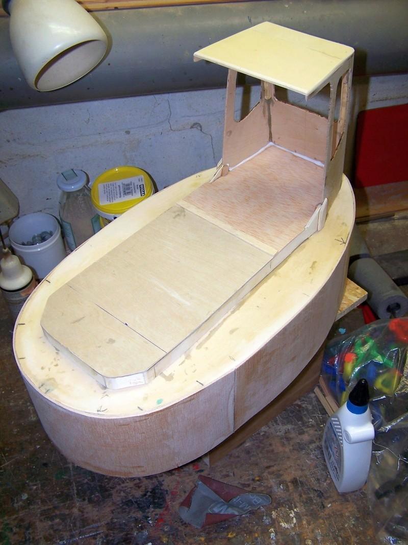 "Baubericht ""Canadian Boomboat"" Bb2610"