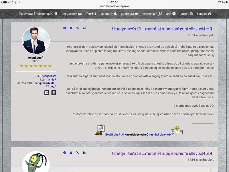 Nouvelle interface pour le forum... Et c'est reparti ! - Page 5 Img_0428