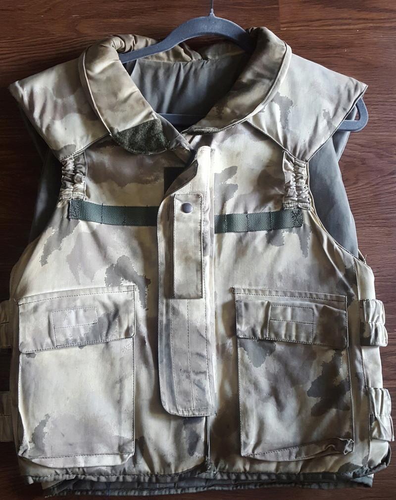 Italian San Marco Desert Camo Flak Vest 20170812