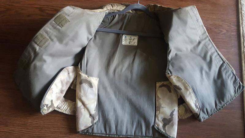 Italian San Marco Desert Camo Flak Vest 20170813