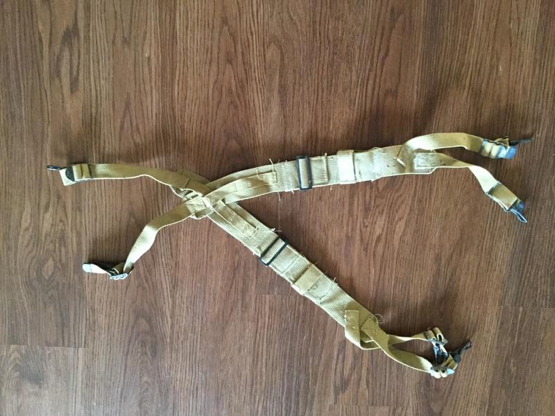 US? M1945 Khaki /tan suspenders  Img_0010