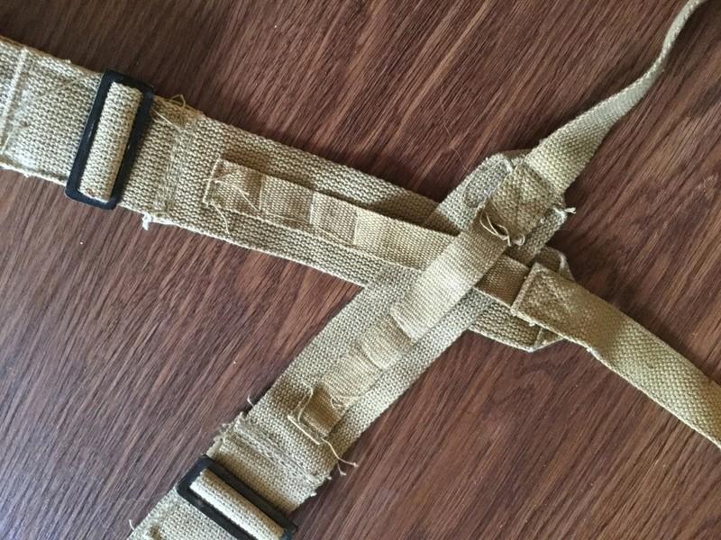 US? M1945 Khaki /tan suspenders  Img_0011