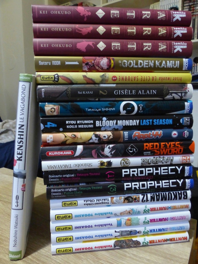 Vos achats d'otaku et vos achats ... d'otaku ! - Page 4 P1030512