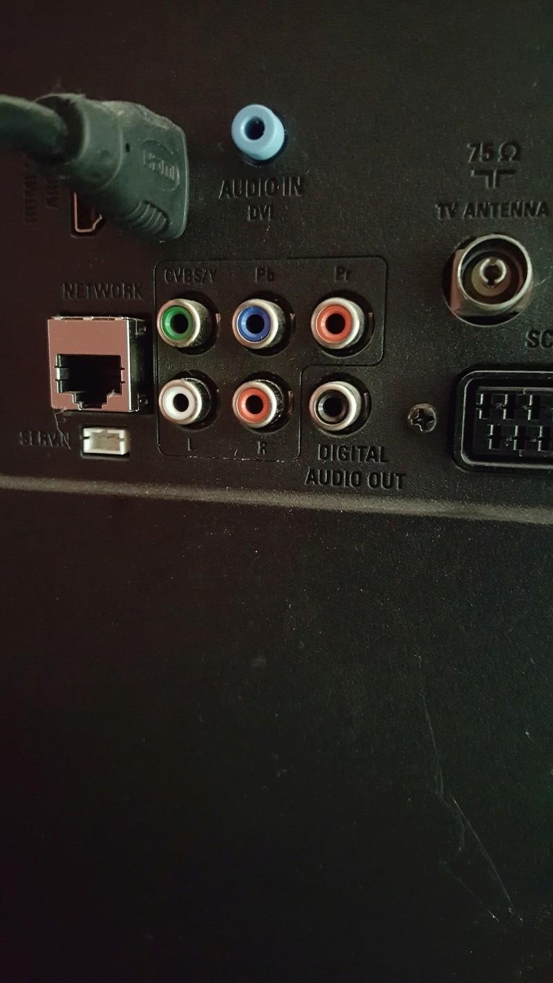 Problème de son avec ma barre de son Bose 20170911
