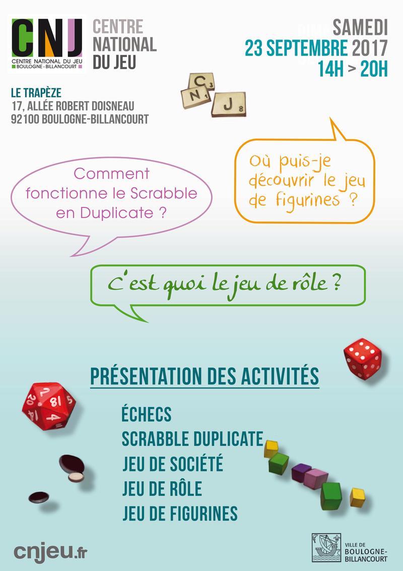 Centre Ludique de Boulogne-Billancourt (CLuBB) - Page 2 Journe10