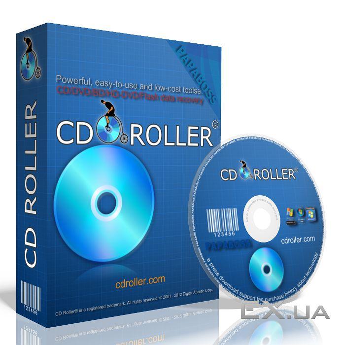 برنامج سيدي رولر CDROLLER لاستعادة الملفات الضائعة 72f95c10