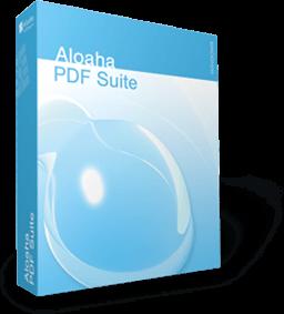 برنامج الويها بي دي اف سويت ALOAHA PDF SUITE لعرض وتحرير ملفات البي دي اف Aloaha10