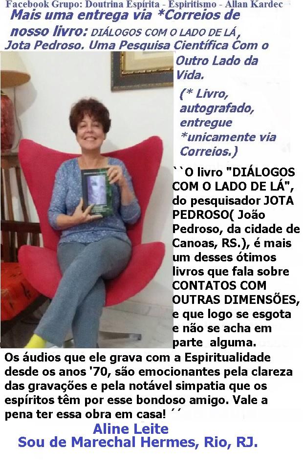Livro: DIÁLOGOS COM O LADO DE LÁ, Jota Pedroso. Uma pesquisa científica com o outro lado da vida Livro_10