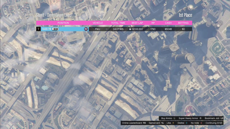 GTA 5 Time Attack | Downtown Loop (FMJ) Img_2127