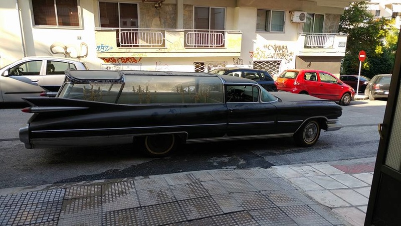 Incroyable Cadillac 1959 corbillard trouvée en Grece - Amazing 1959 Cadillac Hearse recently uncovered in Greece 1959_c17