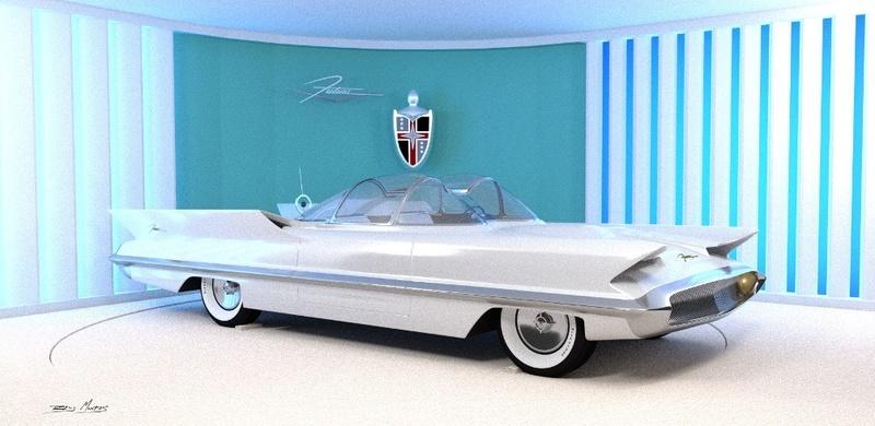 Lincoln Futura 1955 21728910