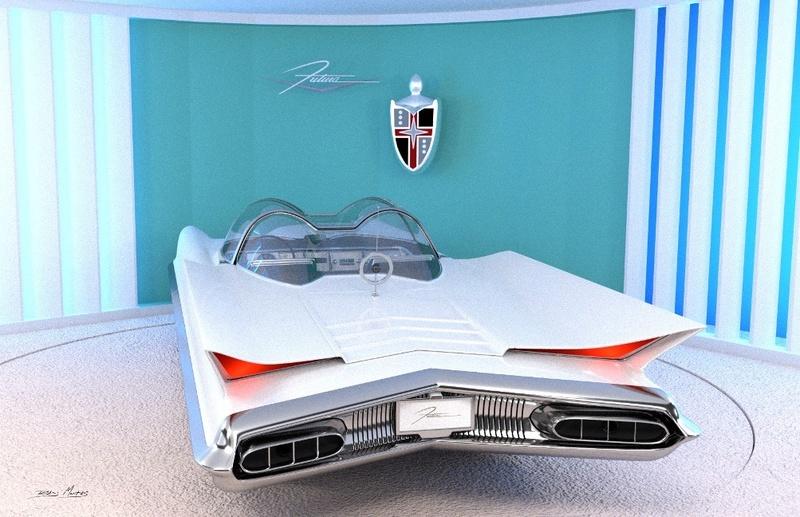 Lincoln Futura 1955 21740810