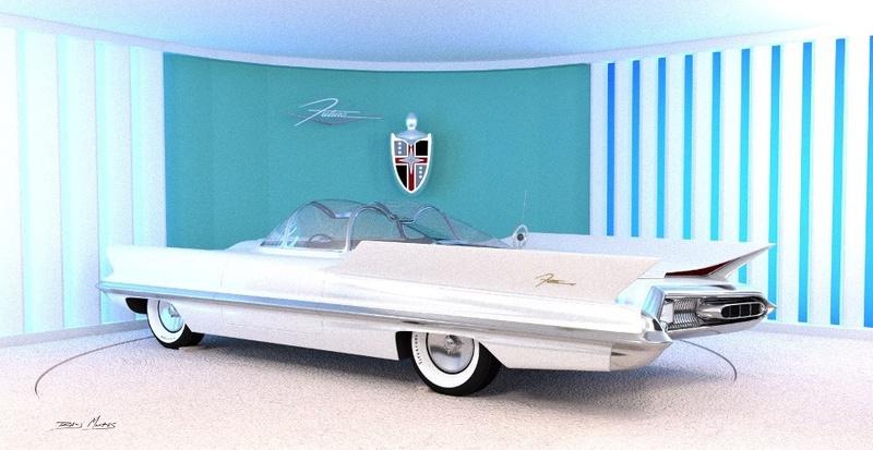 Lincoln Futura 1955 21743410