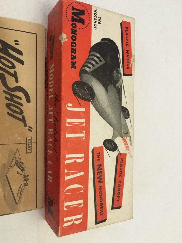 Monogram - Jet Racer - Wood body -early 1950s model car kit 5511