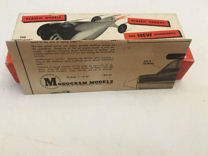 Monogram - Jet Racer - Wood body -early 1950s model car kit 5710