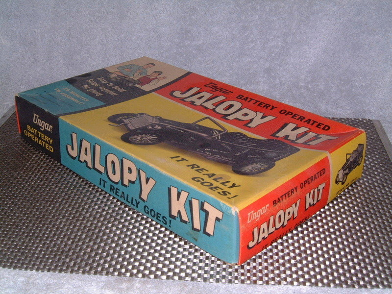 Ungar - Hot Rod Jalopy Kit - Battery operated - Easy to snaps together no gluing - easy to build in 15 minutes!! 6511
