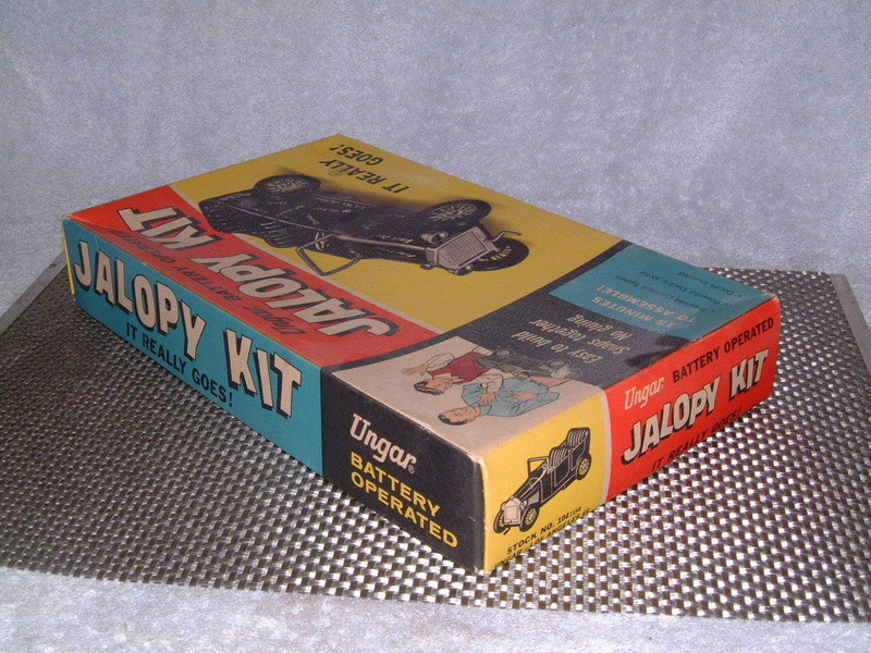 Ungar - Hot Rod Jalopy Kit - Battery operated - Easy to snaps together no gluing - easy to build in 15 minutes!! 6611