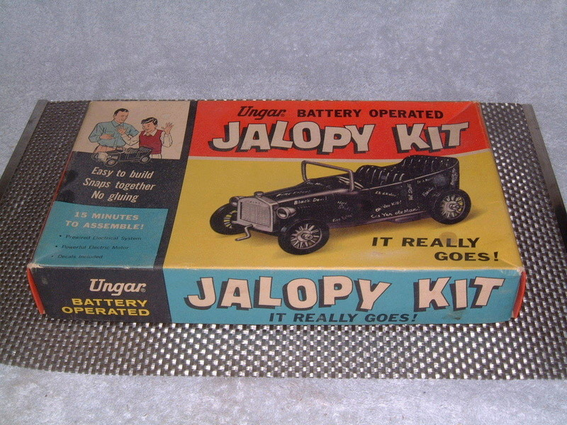 Ungar - Hot Rod Jalopy Kit - Battery operated - Easy to snaps together no gluing - easy to build in 15 minutes!! 6711