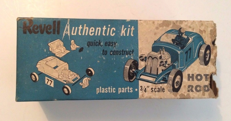 Revell - Authentic Kit - Hot Rod - Quick easy to construct - plastic parts .3/4¨ scale - Hot rod - h59 7311