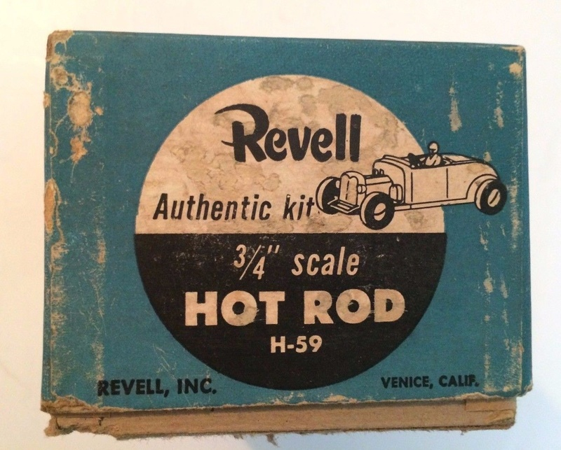 Revell - Authentic Kit - Hot Rod - Quick easy to construct - plastic parts .3/4¨ scale - Hot rod - h59 7610