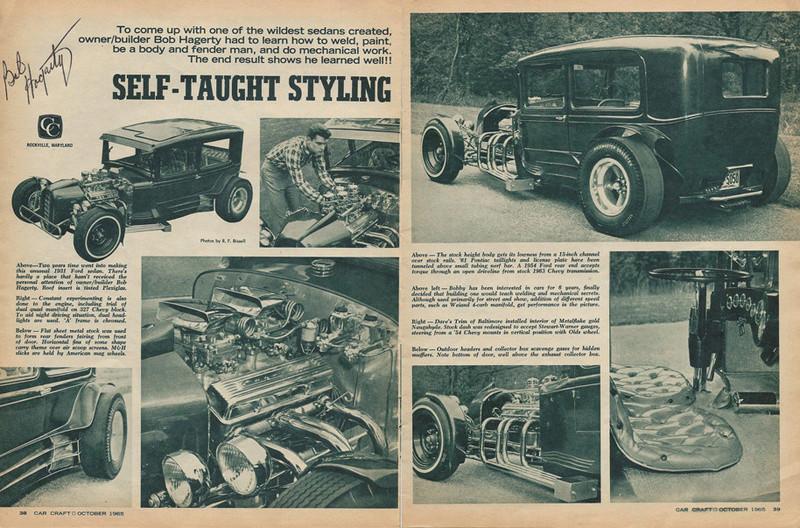 Bob Hagerty's 1931 Ford Bob-ha12
