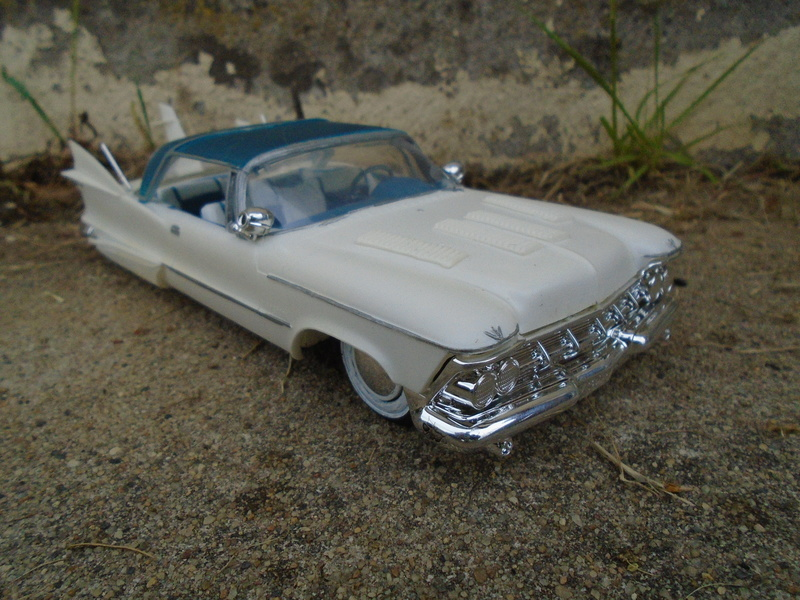 1959 Imperial - Customizing kit 3 in 1 - Amt - Smp - Model King - 1/25 scale Dsc07427