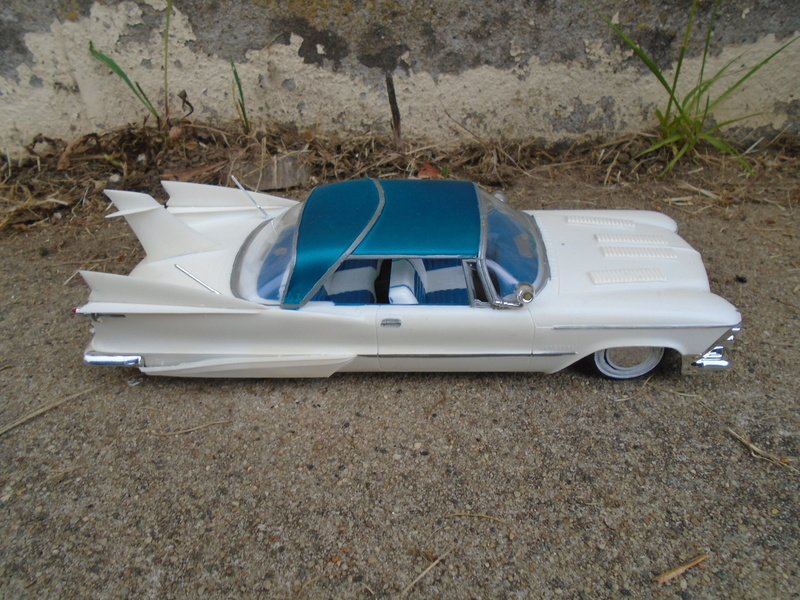 1959 Imperial - Customizing kit 3 in 1 - Amt - Smp - Model King - 1/25 scale Dsc07429