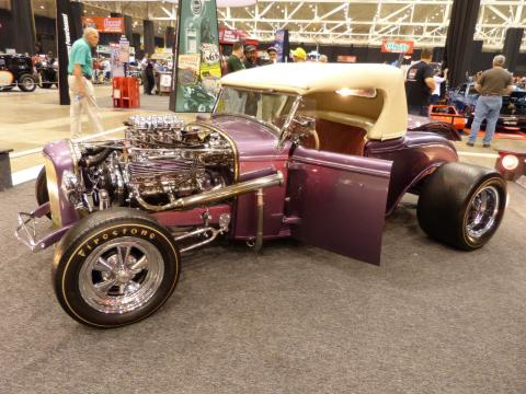 1932 Ford - Friendly Persuader - Purple Trophy Eater - The Farroni Brothers Feat1312