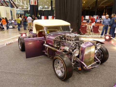 1932 Ford - Friendly Persuader - Purple Trophy Eater - The Farroni Brothers Feat1316