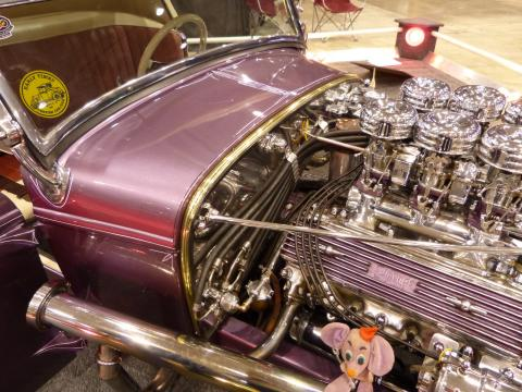1932 Ford - Friendly Persuader - Purple Trophy Eater - The Farroni Brothers Feat1320