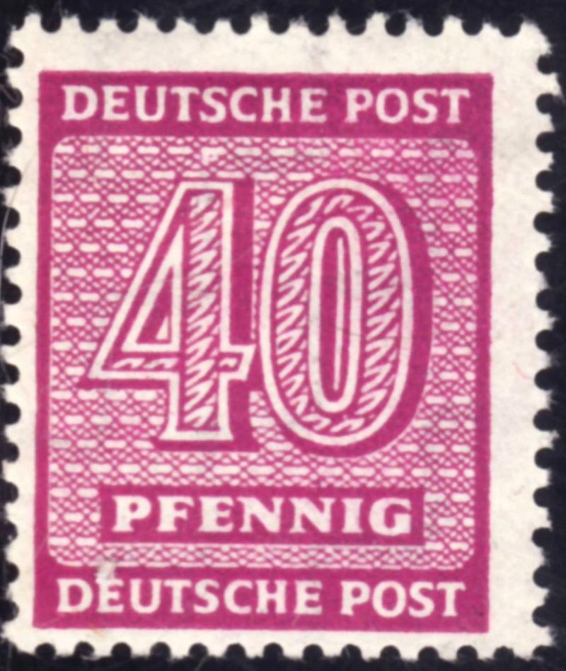 Weisser Fleck auf Michel-Nummer 136 West-Sachsen 136a10