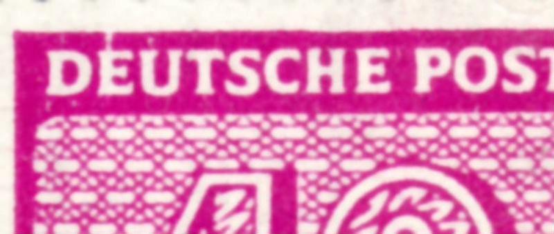 Weisser Fleck auf Michel-Nummer 136 West-Sachsen 136b10