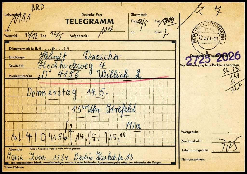 Telegramme Tele110