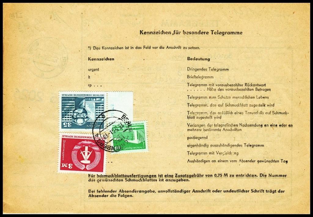 Telegramme Tele410