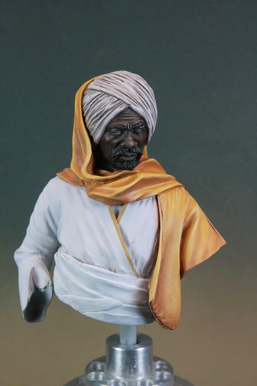 garde Nubien (Soudannais ) d'après Ludwig Deutsch Img_7916