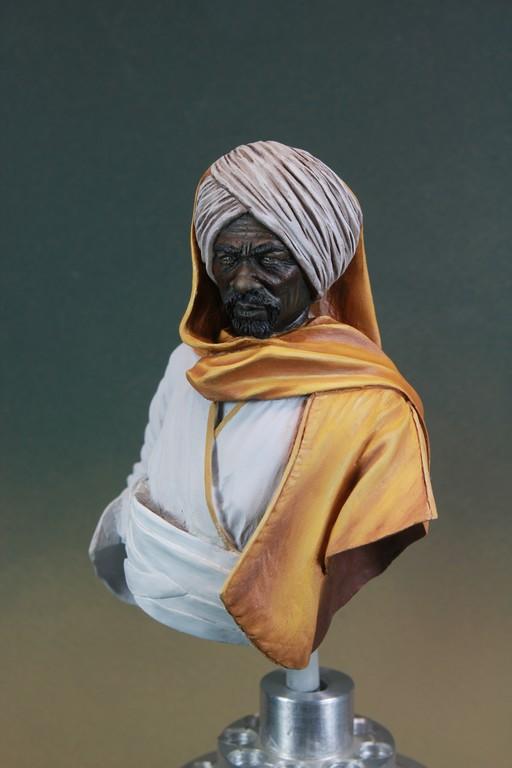 garde Nubien (Soudannais ) d'après Ludwig Deutsch Img_7917